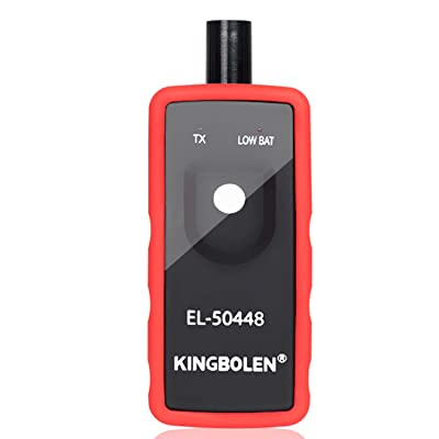 KINGBOLEN Red EL-50448 Automotive Tire Pressure Monitor Sensor TPMS Reset Relearn Activation Tool for GM Series Vehicle: Automotive