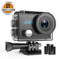 Dbpower DB0923 N5 4K Action Camera, 5X Zoom HD 20MP Deals