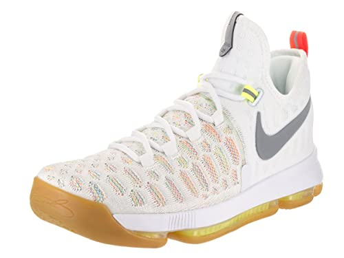 NIKE Mens Zoom Kd 9 Basketball Shoes, Verde (Verde (Multi-Color
