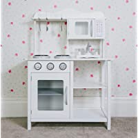 Other Children's Wooden Play Kitchen White Learning Cooking Role Play Kids Pretend