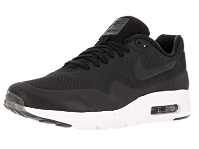 best website f7604 3ba5c Image Unavailable. Image not available for. Color  Nike Men s Air Max 1  Ultra Moire Black Black White Running Shoe ...