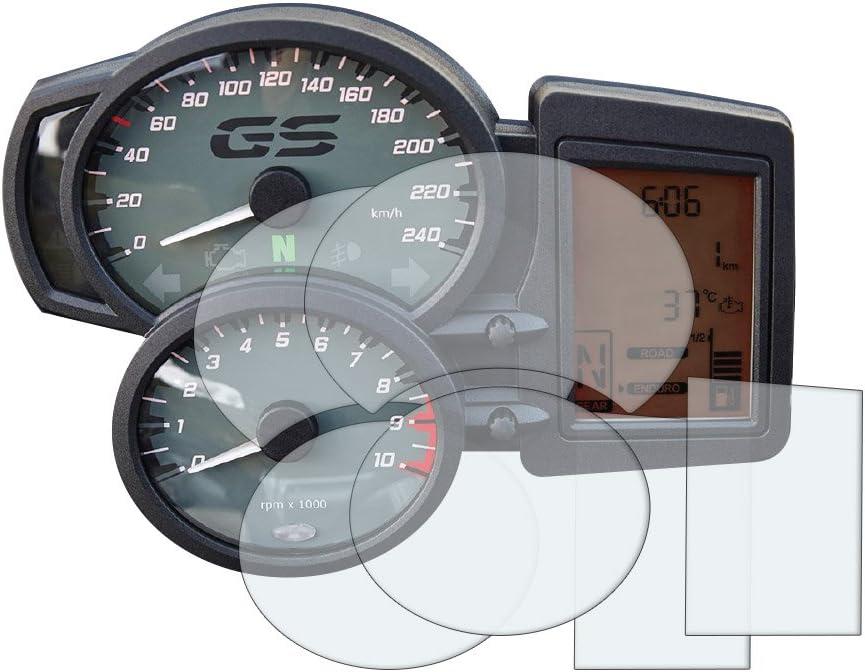 F800 Gs Gt R S St 2006 Displayschutzfolie Tachoschutzfolie 2 X Ultra Klar Auto