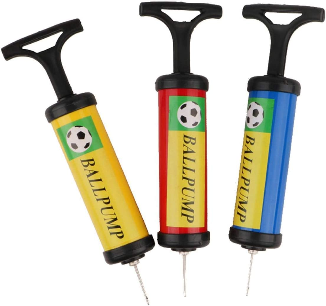 ZZbaixinglongan Newest Beauty Inflator Ball Pump Needles Valve Adapter Set For Basketball Football Balloons Volleyball And Rugby for Camping Picnic and Other Outdoor Activities
