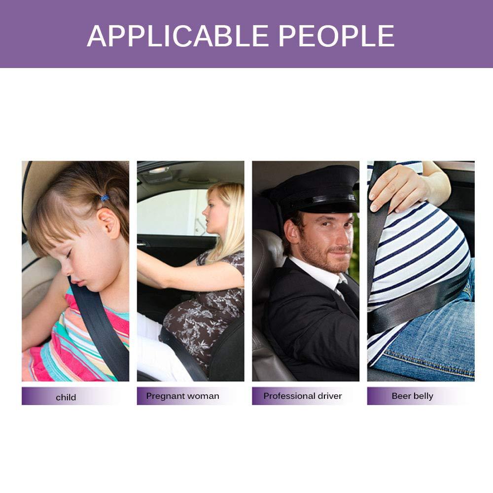Lot voiture Confort Auto r/Ã/©gleur Seatbelt /Ã/©paule courroie de cou Positionneur verrouillage clip Protecteur de s/Ã/©curit/Ã/© Ceinture de s/Ã/©curit/Ã/© de voiture universel OurLeeme 2Pcs