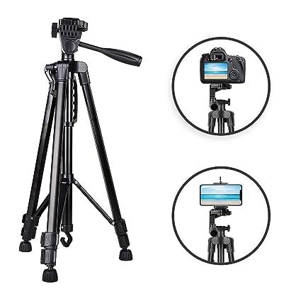 Heorryn Trípode de 140 cm para cámaras réflex digitales y de único ...