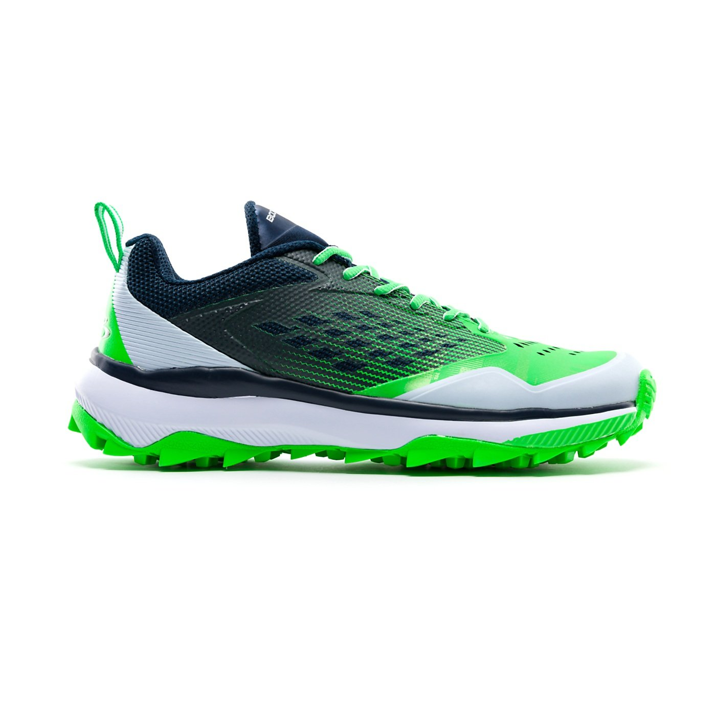 Boombah Men 's Marauder Turf Shoes – 8カラーオプション – 複数のサイズ B07BS691KY 10.5|Navy/Lime Green Navy/Lime Green 10.5