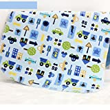 """Changing Pad,Fairy Baby Baby Diaper Portable Travel Home Waterproof Urine Mat Pack of 1(Blue Car,11.80""""x17.71"""")"""