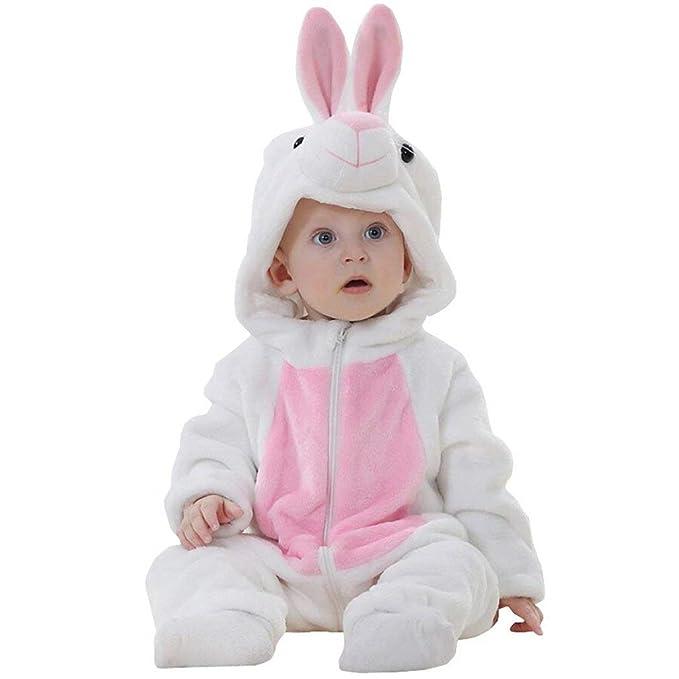 Kfnire Mamelucos del bebé, Pijamas Cosplay del Traje del Mameluco del Franela de la Historieta del bebé Unisex: Amazon.es: Ropa y accesorios