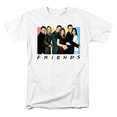 86273c238 Amazon.com: Popfunk Friends TV Show Cast T Shirt & Stickers: Clothing