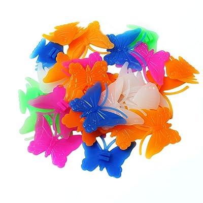 étoile poisson papillon Perle Rayon Roue vélo Déco Clip Enfants Fille Garcon