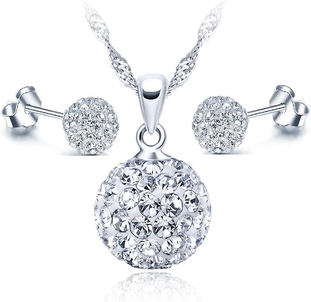 EMPATHY JEWELS Pendientes de Plata con Cristales de Swarovski - Regalos Originales para Mujer - Dia de La Madre Regalos Originales