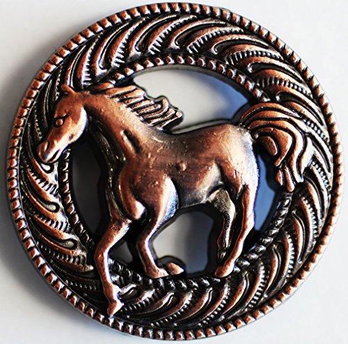 Challenger Tack Concho 4 Conchos Rhinestone Horse Saddle Western Bridle ()