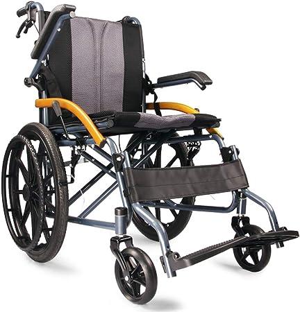 Sedie a rotelle Pieghevoli Leggere semoventi con Ruote
