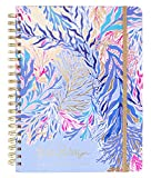Lilly Pulitzer Jumbo 17 Month Hardcover Agenda, 11.13' x 8.63' Personal Planner with Monthly & Weekly Spreads for Aug. 2019 - Dec. 2020, Kaleidoscope Coral