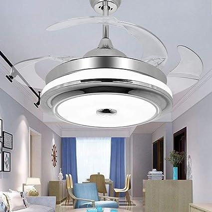 Amazon.com: tiptonlight Ventilador de techo con remote-42 ...