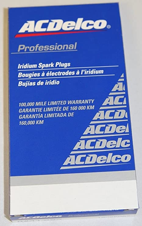 Amazon.com: 8 Pack- ACDelco Platinum Spark Plugs 41-905 Brand New - 8 Pack 12607280: Automotive