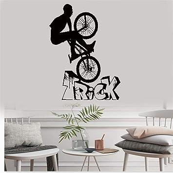 pegatinas de pared star wars Bicicleta BMX Biker Bike Extreme ...