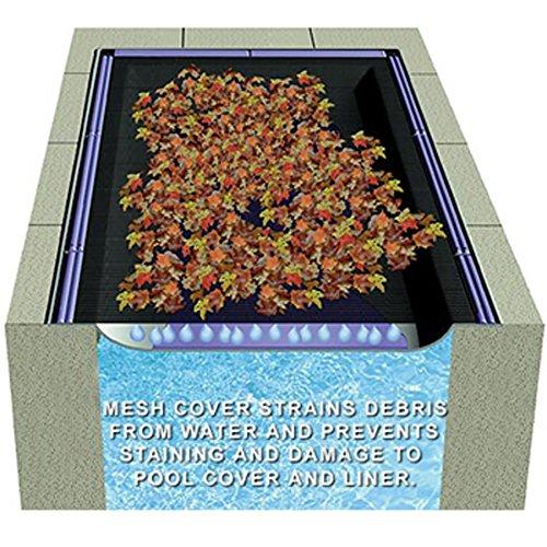 Rectangle Leaf Net Swimming Pool Covers