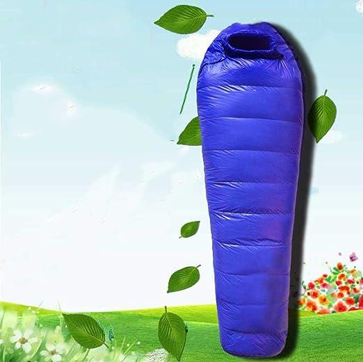 AGWa Sacos de dormir Plumas ultraligeras al aire libre ...