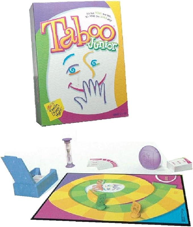 Taboo Junior (2001 Edition) by Hasbro: Amazon.es: Juguetes y juegos