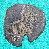 1631 ES  and  1655 Spanish Castle  and  Lion Colonial Caribbean Pirate Era Cob #8 Coin Fair Details