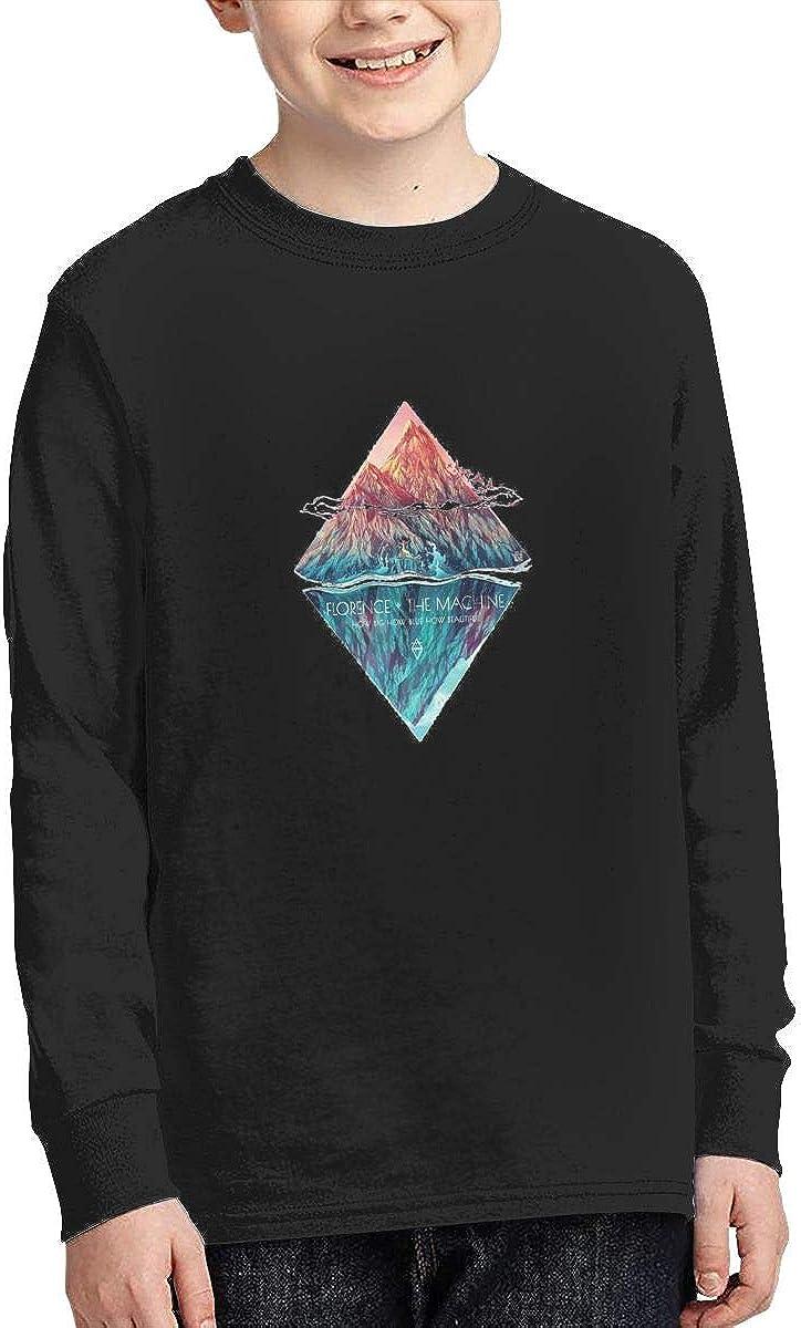 JJZHA0Ihzka Boys Florence and The Machine Long Sleeve Shirts