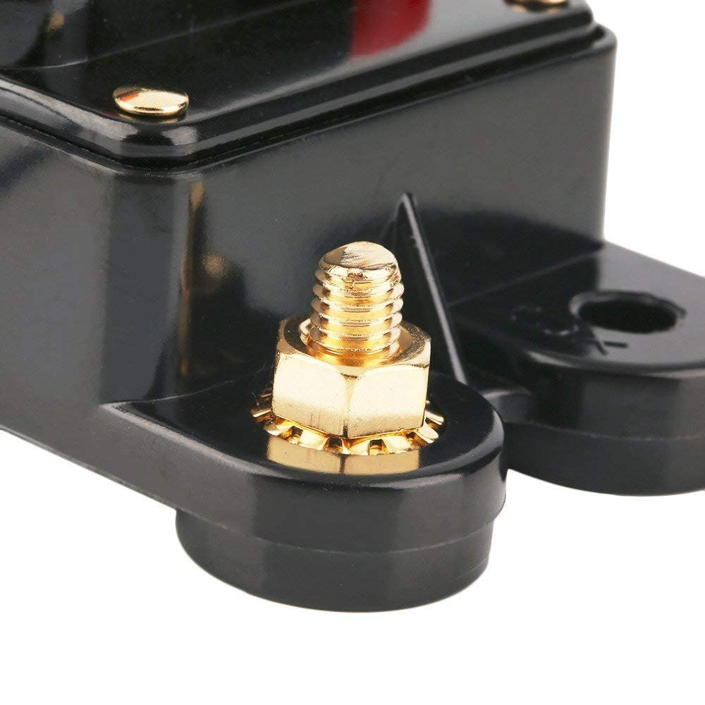Anjoshi 30a Fuse Holders 300a Auto Car Protection Stereo Switch Replace Circuit Breaker Button 60a 12v Voltagein Inline Reset