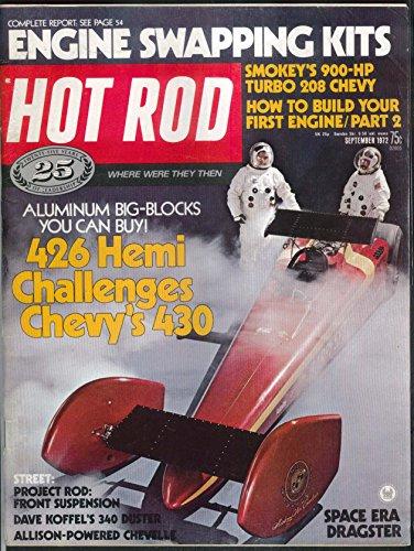 (HOT ROD 426 Hemi Chevy 430 Turbo 208 Dave Koffel Duster ++ 9 1972)
