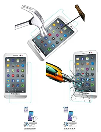 Acm Pack of 2 Tempered Glass Screenguard for BlackBerry Z30 Mobile Screen Guard Scratch Protector Mobile Accessories