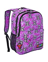 Ed Heck EH705-19B-MLS 19-Inch Backpack, Multi Skull, International Carry-On