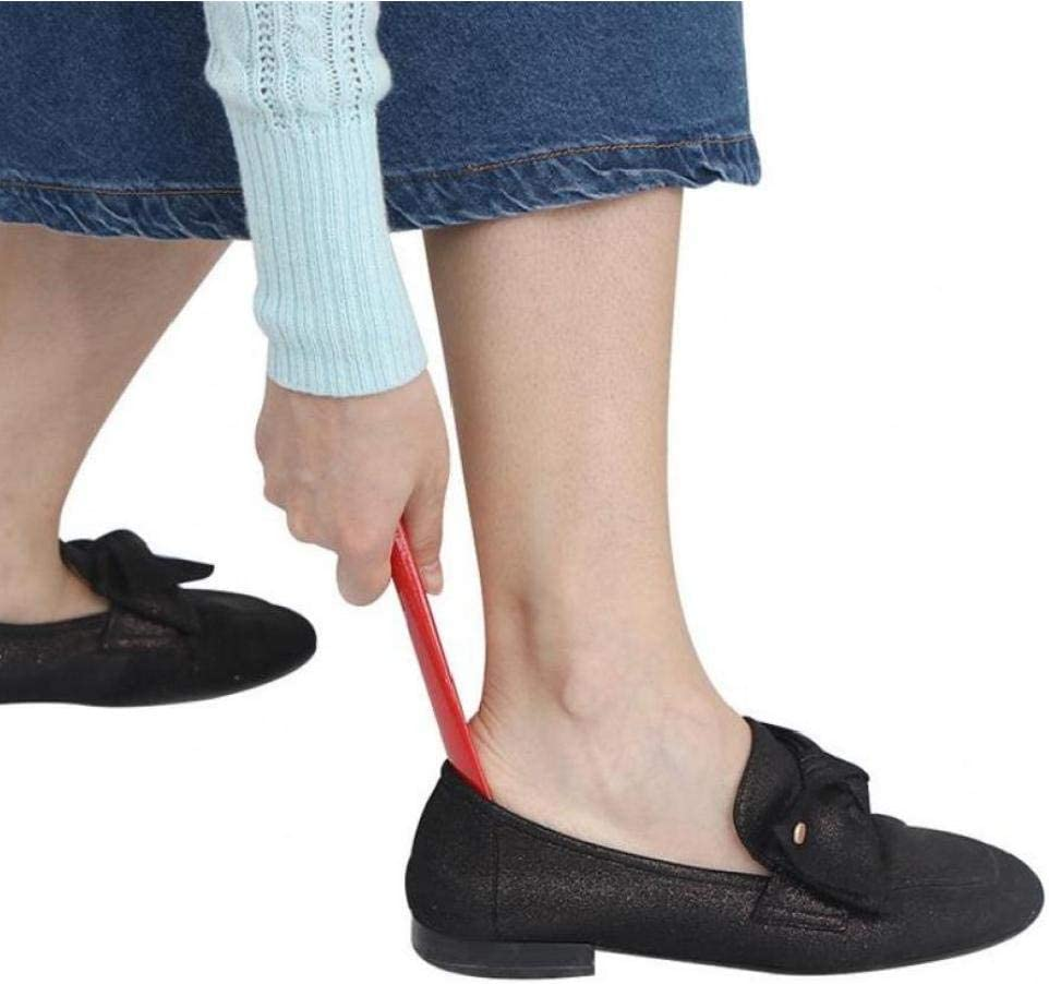 Lankater Chaussures Durable Professionnelle Horns Facile Poign/ée Chaussures Corne Cuill/ère Chausse Chaussures Lifter Outil