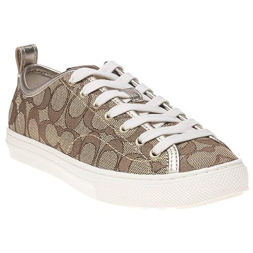 cfcf57381 Coach C121 Mujer Zapatillas Tostado  Amazon.es  Zapatos y complementos