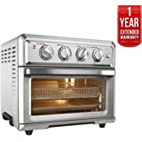 Cuisinart TOA-60 Convection Toaster Oven Air Fryer with Light, Silver w/1 Year Extended Warranty