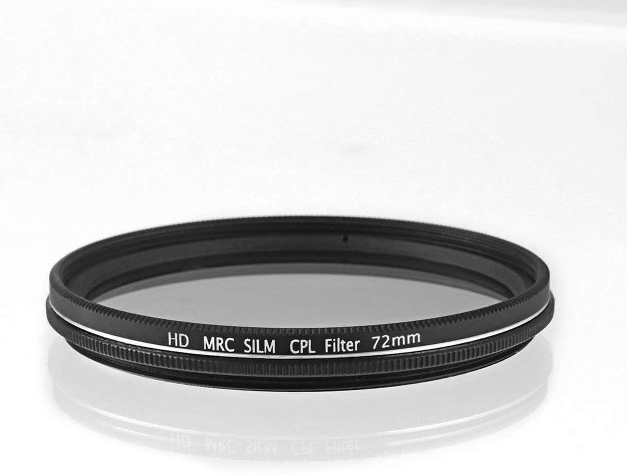 Liobaba Professional Photography Filter Kit Waterproof Super Thin Circular Polarizer for Camera Lens