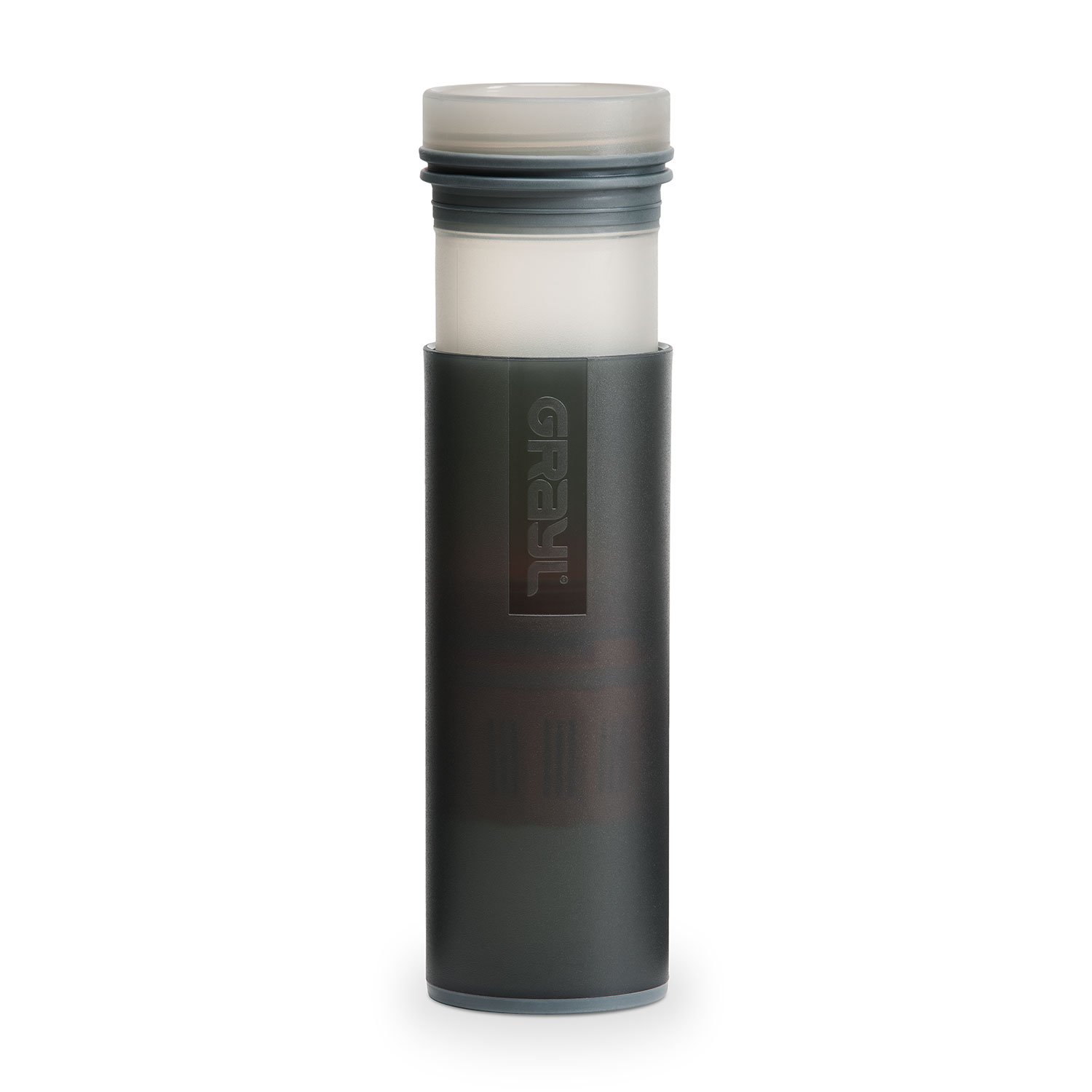 fd78dddaef Amazon.com : GRAYL Ultralight Water Purifier [+ Filter] Bottle (Black) :  Sports & Outdoors