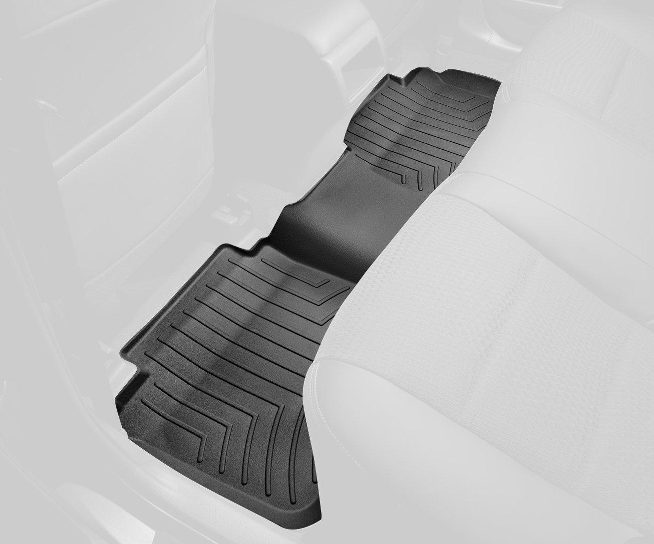 WeatherTech 444602 FloorLiner, Rear, Black