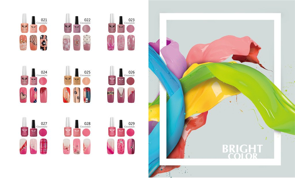 Esmalte Uñas Semipermanente Gel Polish Soak Off UV LED Nail Art Manicura: Amazon.es: Belleza