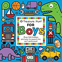 Treasure Hunt For Boys: Over 500 Hidden Pictures