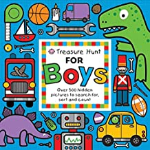 Treasure Hunt for Boys: Over 500 hidden pictures to search for, sort and count! (Priddy Books Big Ideas for Little People)