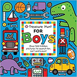 amazon treasure hunt for boys over 500 hidden pictures to search
