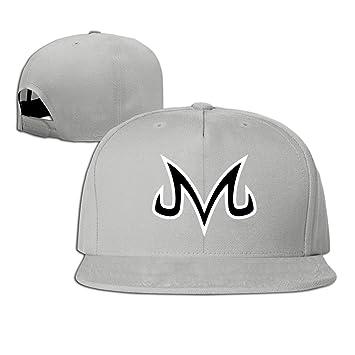 0c98d436872 Hittings Vegeta Majin Dragonball Z Plain Adjustable Snapback Hat Baseball  Cap Unisex Navy Ash