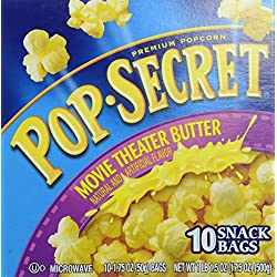 Pop Secret Snack Size Movie Theater Butter Microwavable Popcorn, 17.5 Ounce