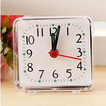 JIAHANLI Reloj Despertador Reloj Despertador analógico Bien Cama ...