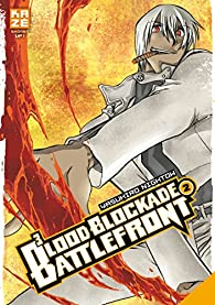 Book's Cover ofBlood Blockade Battlefront tome 2