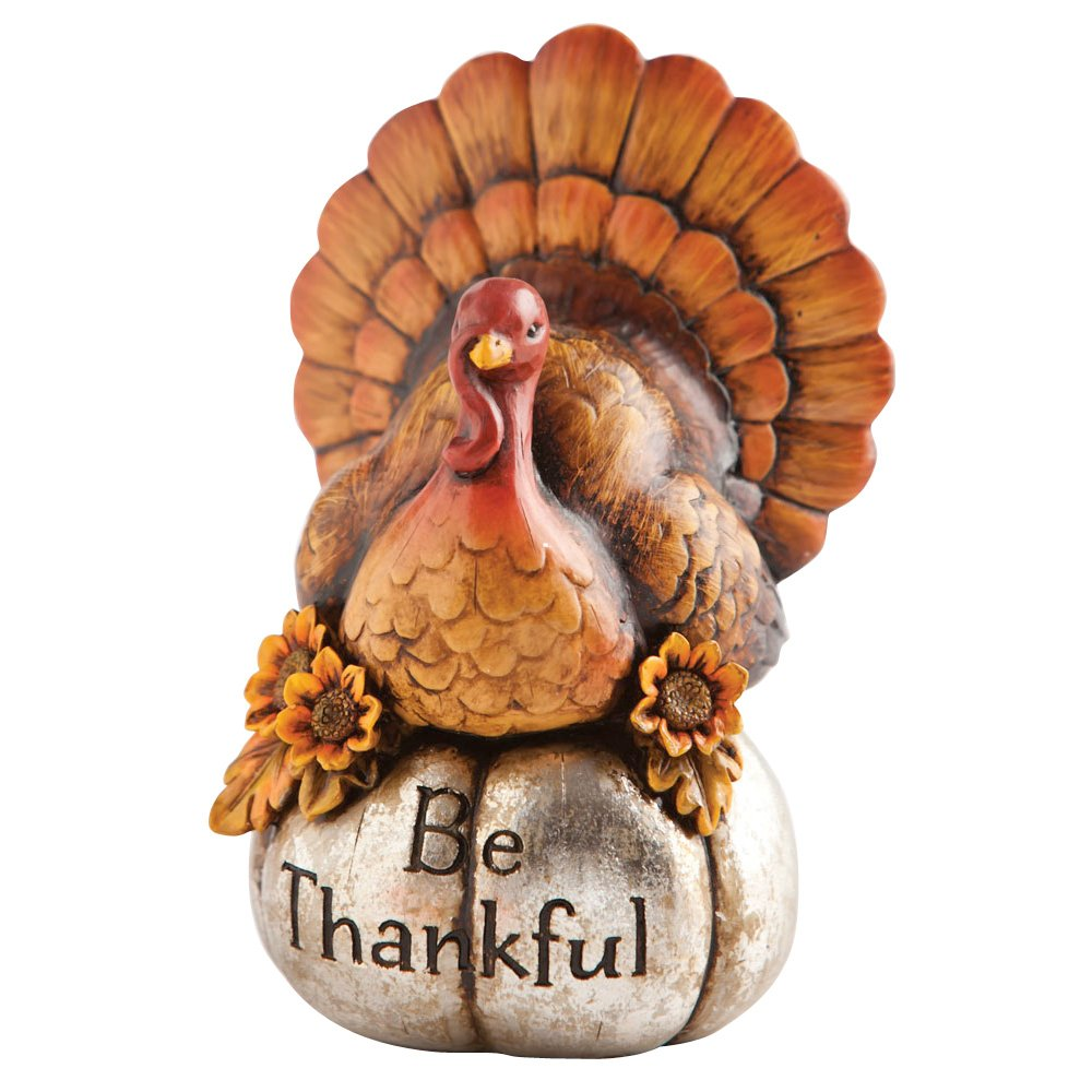 Thanksgiving turkey decor - Amazon Com Decorative Be Thankful Turkey Thanksgiving Decor Patio Lawn Garden