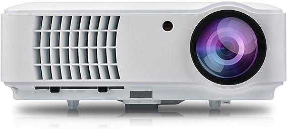 Proyector 1080P Full HD Video Proyector 4000 Lumen proyector Cine ...