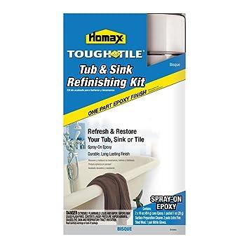 Amazon.com: Tough As Tile Epoxy Finish, Spray-on Kit, Bisque ...