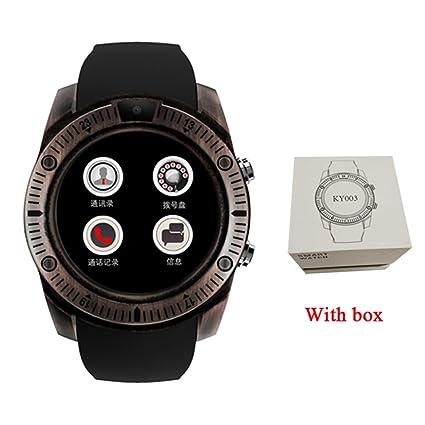 Pasómetro KY03 Vintage Relojes Inteligentes Android Hombres ...