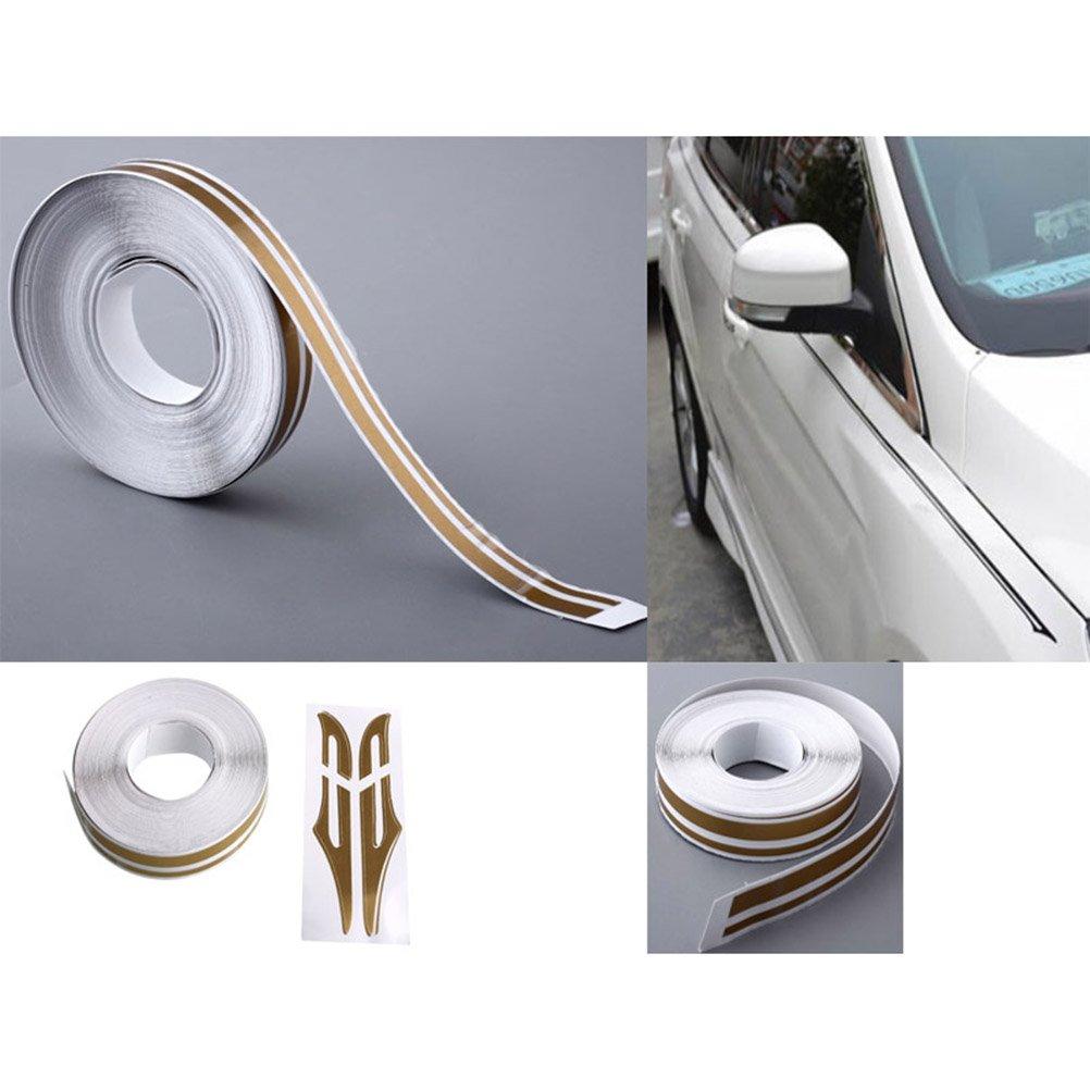 oro VORCOOL Strisce adesive decorative per auto