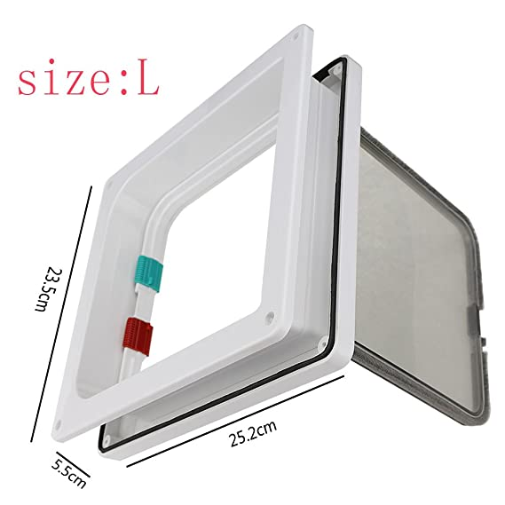 Lesypet Pet Flap Pet Doors For Dogs And Cat Dog Window Of Freewheel